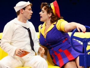 Jay Armstrong Johnson and Alysha Umphress in On the Town