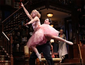 Annaleigh Ashord & Reg Rogers in the B'way revival