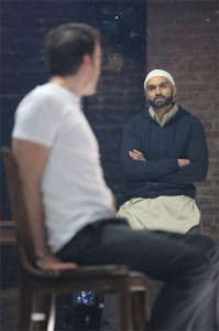 Justin Kirk (r) and Usman Ally