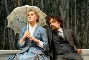 Taylor Schilling & Peter Dinklage in A Month in the Country