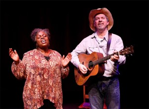Lillias White & Scott Wakefield in Texas in Paris